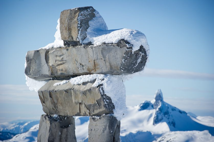Canada In Image Of The Inukshuk Northern River Financial
